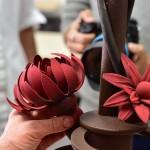 עולם מתוק – חוויות מקורס פיסול בשוקולד