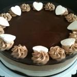 עוגת ה- 2000 – דאבל מוס שוקולד