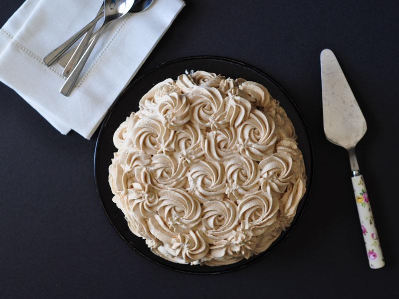 עוגת שוקולד מצופה קרם