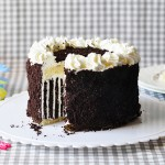עוגת היומולדת שלי – פסים וקצפת ובקיצור זברה
