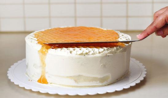 ציפוי עוגת כוורת
