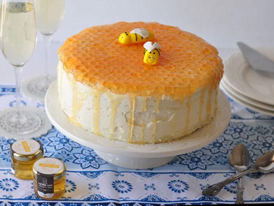 עוגת כוורת