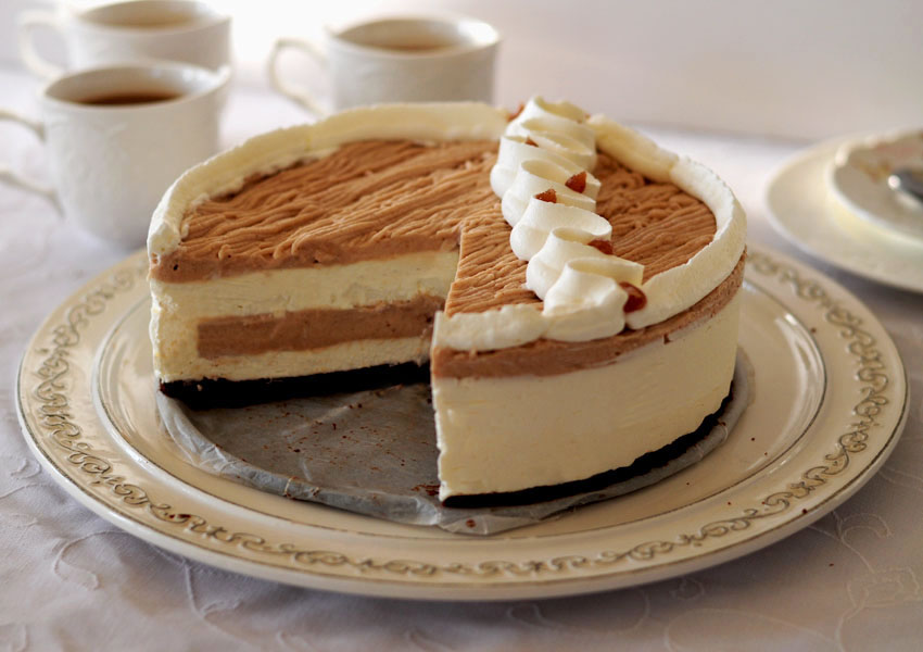עוגת מוס ערמונים
