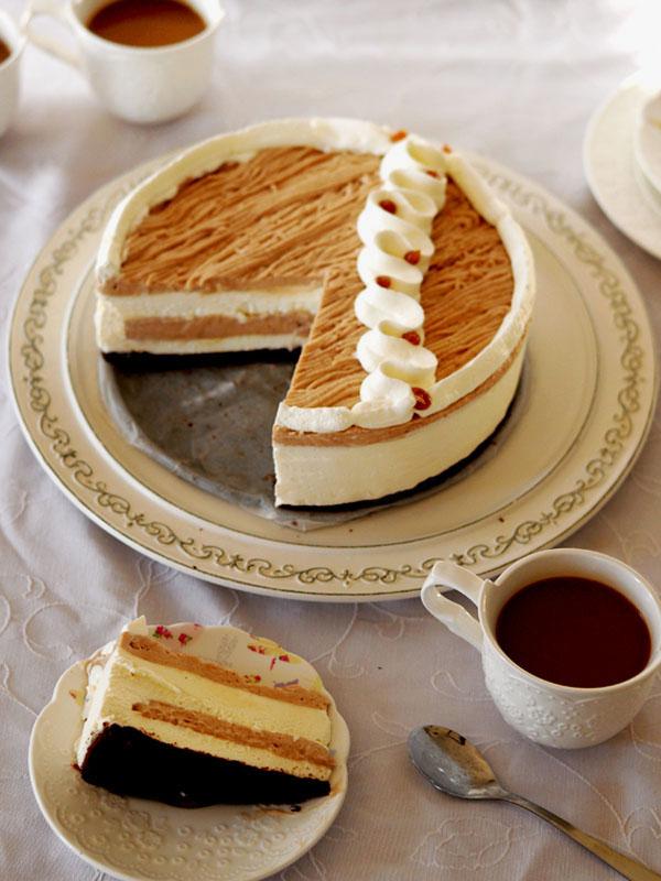 עוגת מון בלאן פרוסה