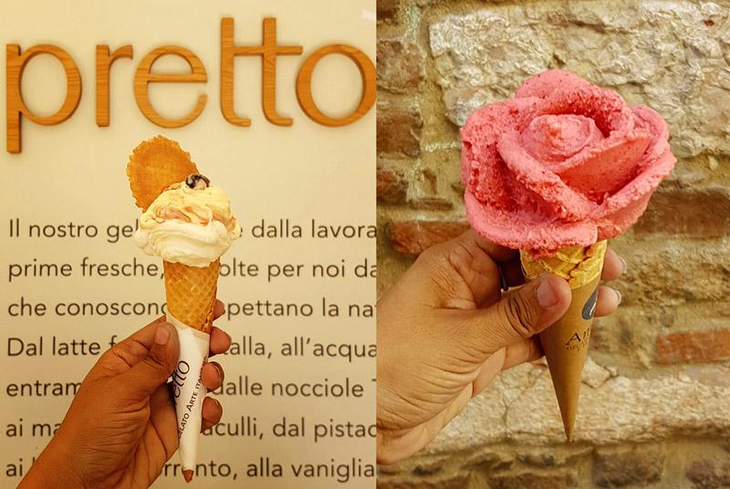 גלידת פרח בורונה