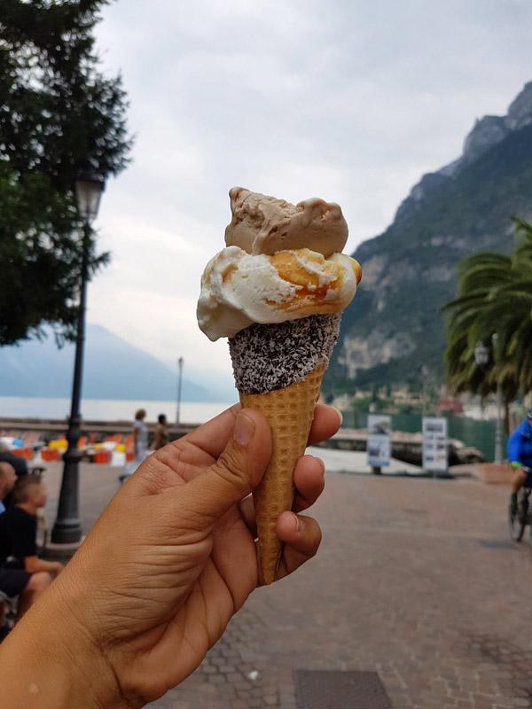 גלידה בריבה דל גארדה