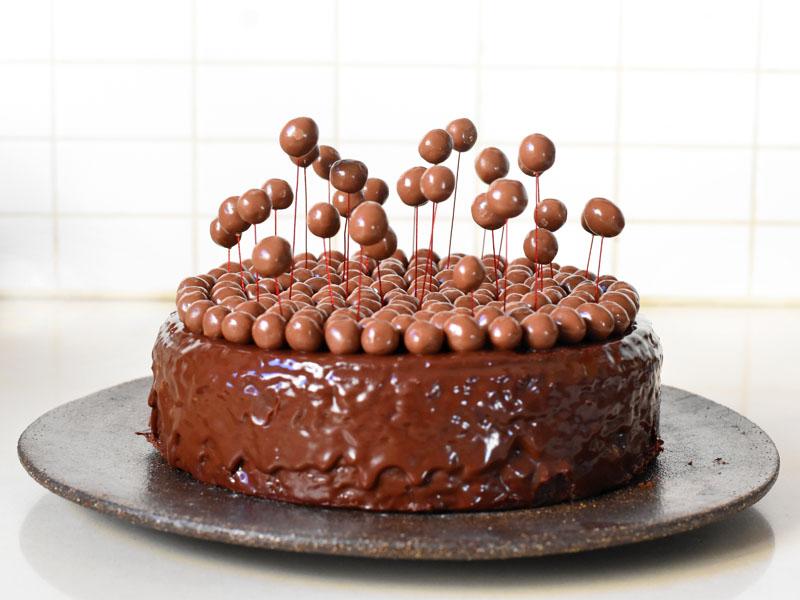 עוגת שוקולד עם קליק