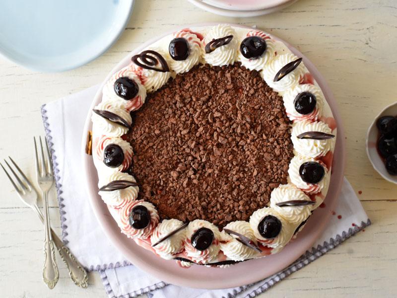 עוגת היער השחור מבט על