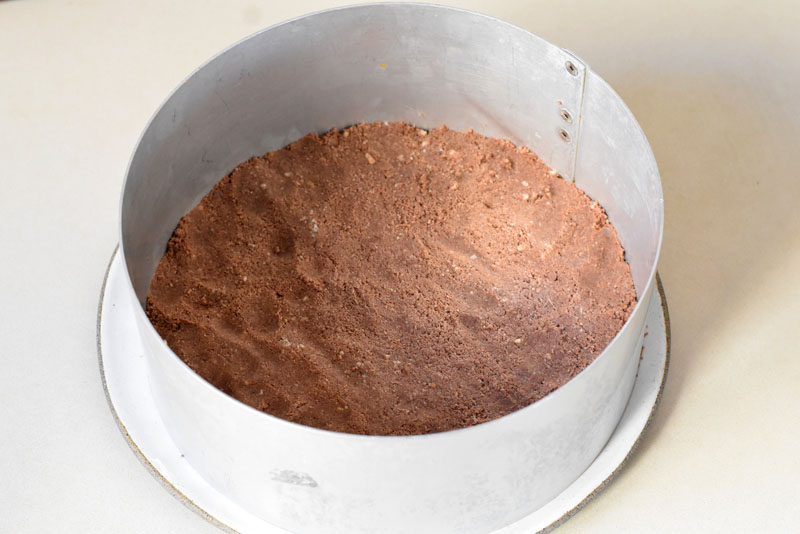 תחתית לפאי שוקולד טבעוני