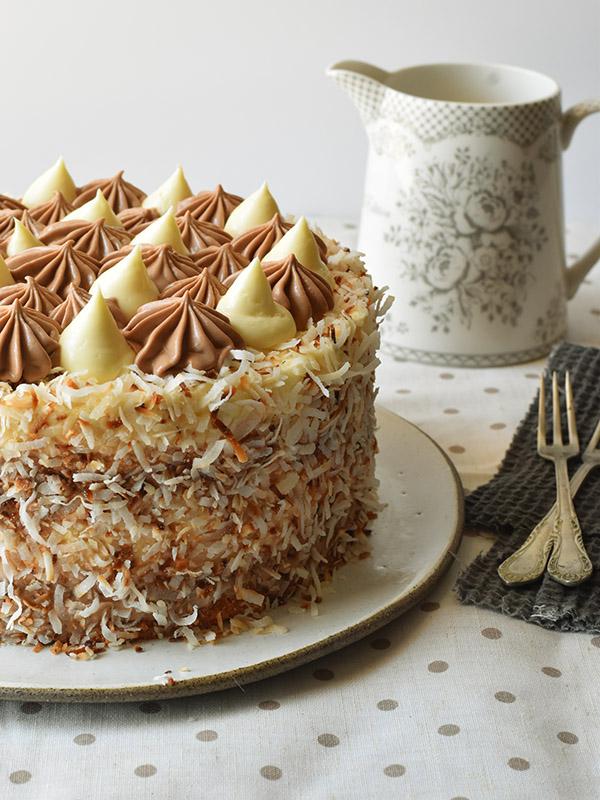 עוגת באונטי צילום אורך