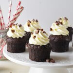קאפקייקס שוקולד בלי טיפת קמח