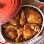 העוף החגיגי של אמא – עוף בתנור עם אורז ערמונים, צנוברים וכל טוב