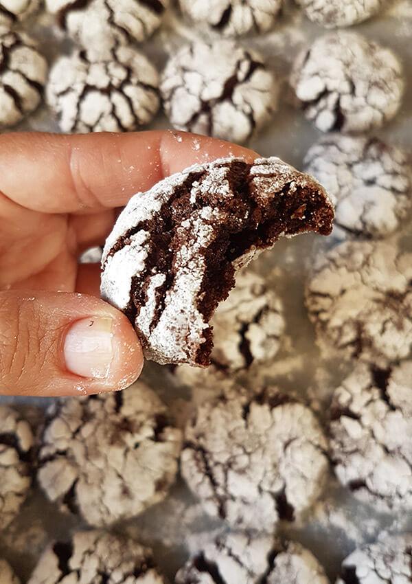 הביס המושלם - עוגיות מושלגות