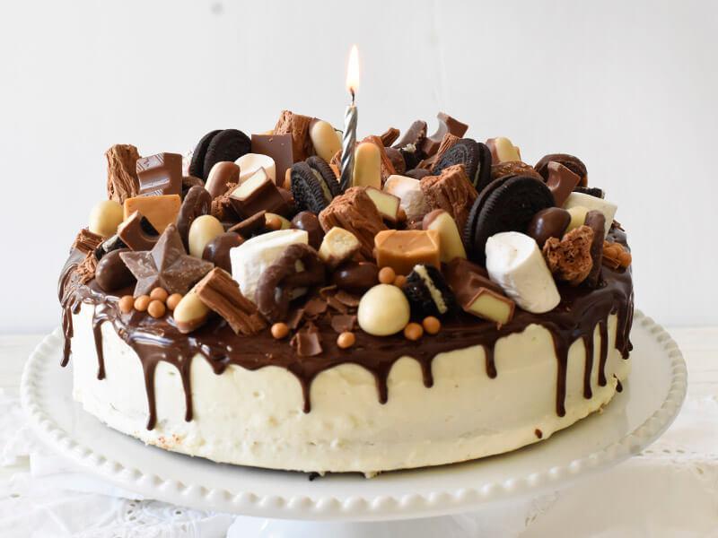 עוגת יומולדת חגיגית