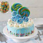 עוגת סוכריות לילד יומולדת