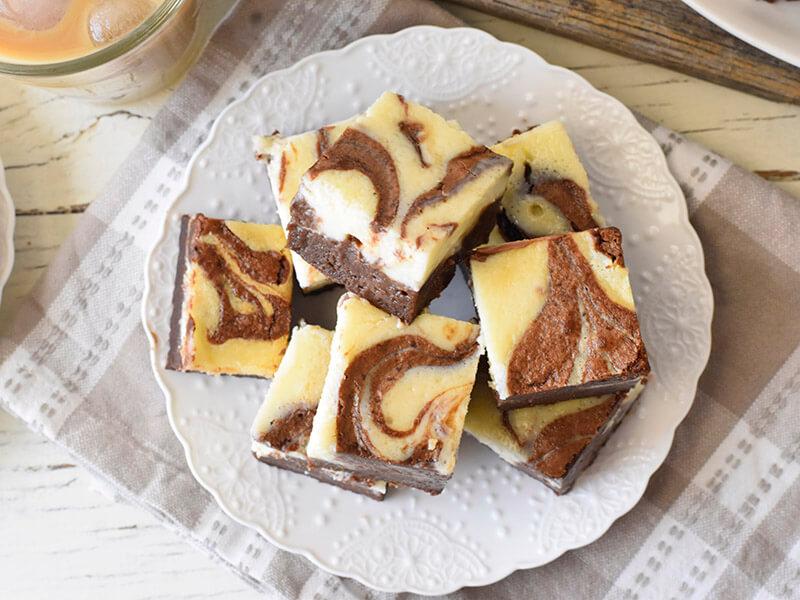 בראוניז שוקולד וגמסקרפונה