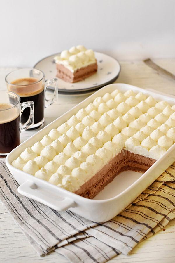 עוגת ביסקוויטים אורך