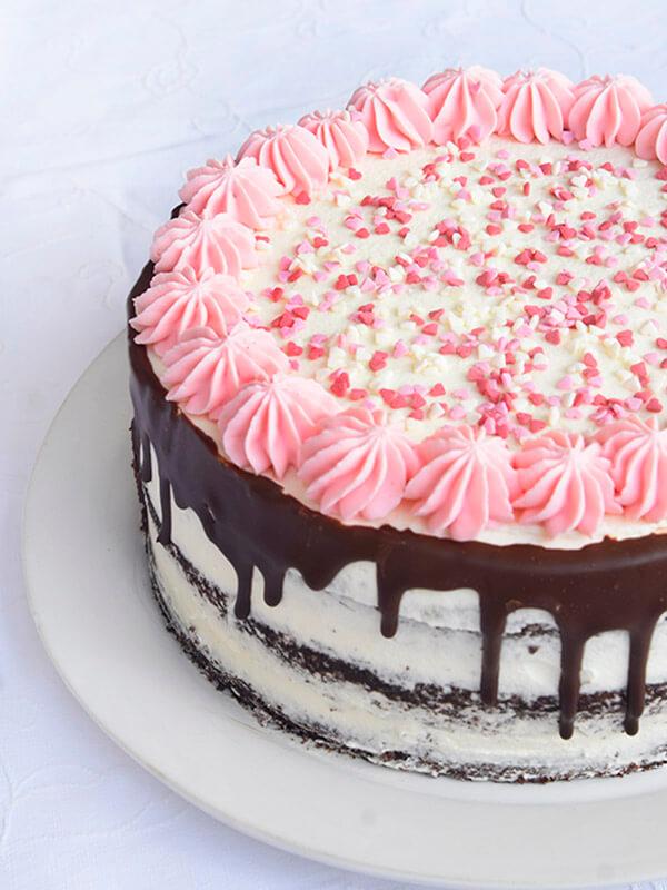 עוגת יום הולדת אורך