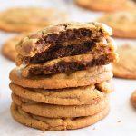 עוגיות שוקולד צ'יפס במילוי בראוניז – ברוקיז brookies