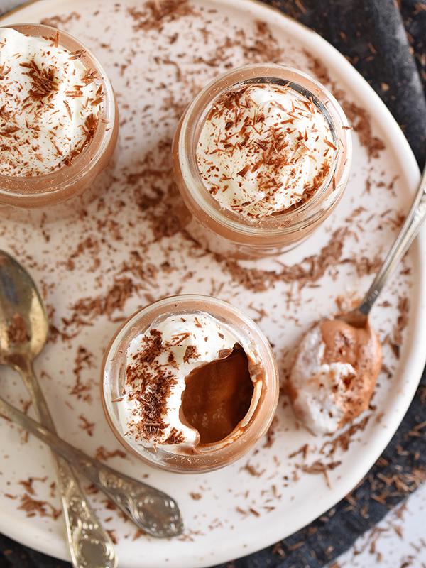 מוס שוקולד מ 2 מרכיבים