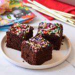 עוגת שוקולד חגיגית ליום הולדת (עוגה כושית)